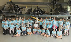Group at Military Museum