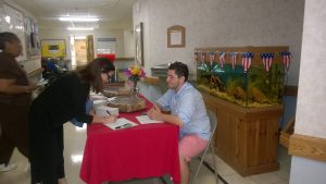 Voters register at Chapel Hill
